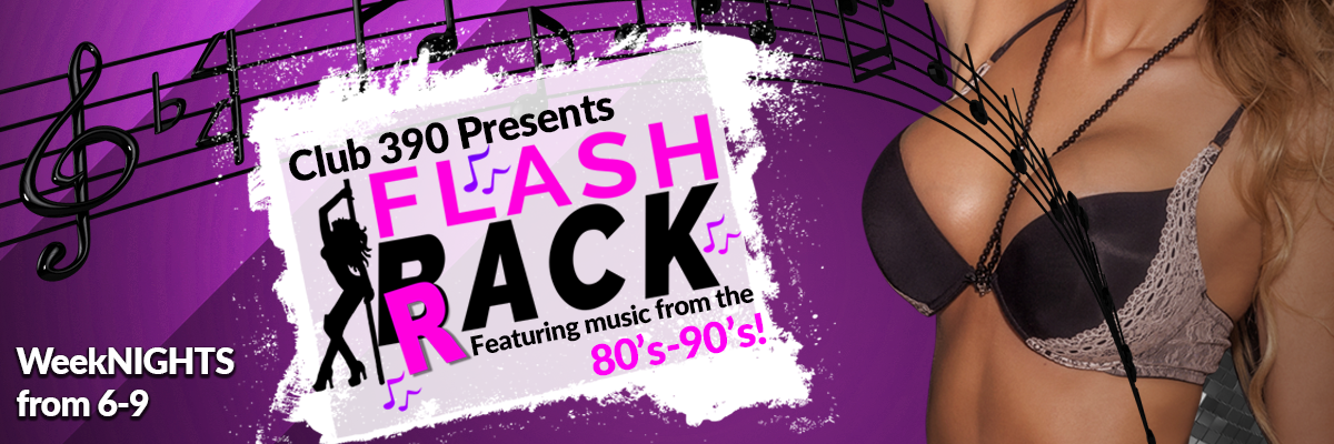 Flash Back to the music of the 80's and 90's